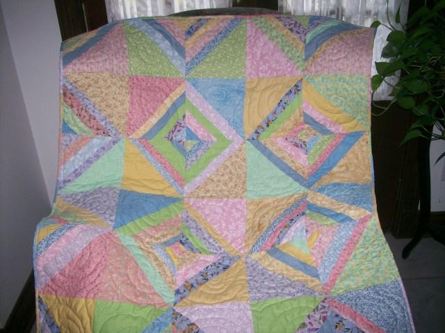Ava's baby quilt 001