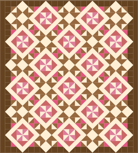 brown - pink v2 with borders