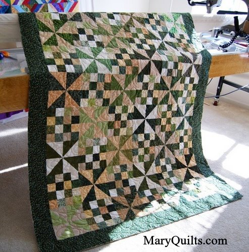 Pinwheels-quilted