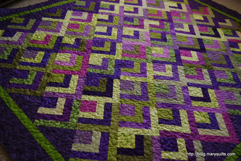 Half Log Cabin Maryquilts Com
