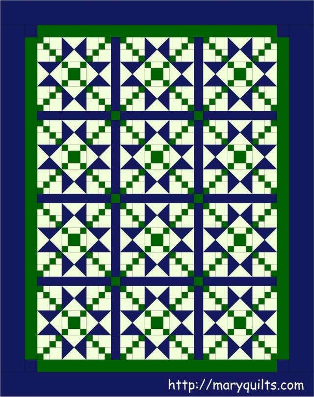 Blue-green stars2