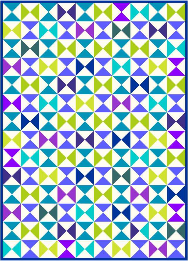 Hourglass quilt